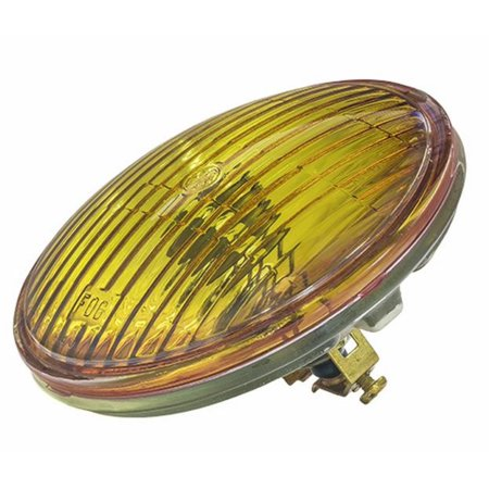CandlePower 4415A GE 4415A Sealed Beam 4 1/2in. Fog/Passing Lamp - 12V, 35 Watt - Amber