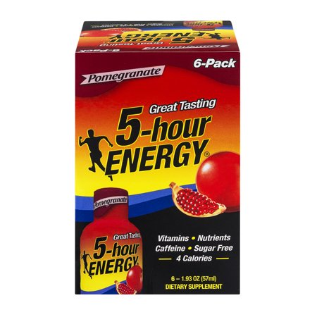 Image of 5-Hour Energy Dietary Supplement Pomegranate - 6 CT