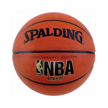 Spalding Sports Div Russell 63-249 Full-Size Rubber NBA Street (Best Spalding Basketball Shoes)