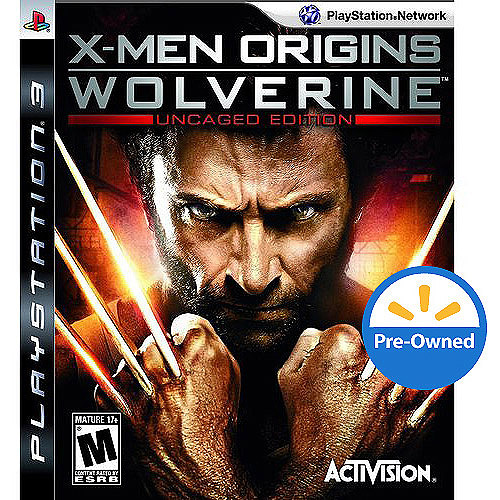 Xmen Origns Wolverine  (PS3) - Pre-Owned