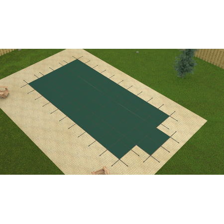 Gli 20X40 Promesh Rectangle Swimming Pool Winter Safety Cover W 4X6 Step