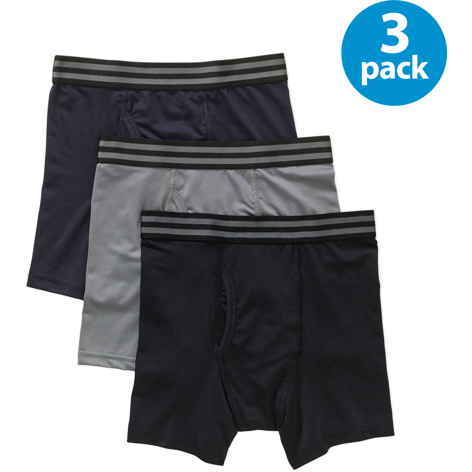 Starter Boys Basic Boxer Brief, 3 Pack