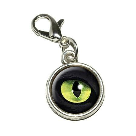 Cat Green Eye Bracelet Charm