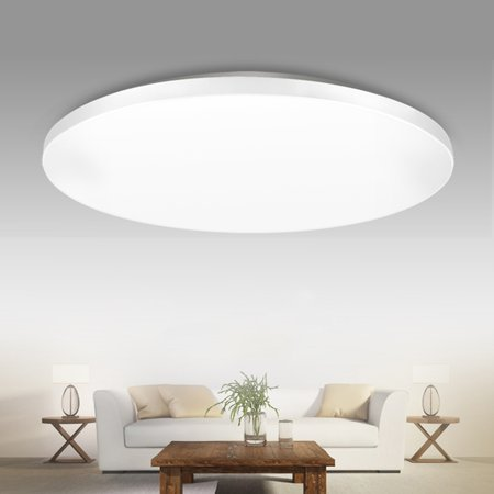 10.6 Inch Ultra Thin LED Ceiling Light, Flush Mount Fixture,12W 1000 Lumens Round Modern Lamp for Home Bedroom Dining Hall Study Living Room,Soft/Cool White