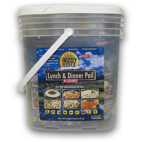 Grizzly Ridge Lunch/Dinner Pail