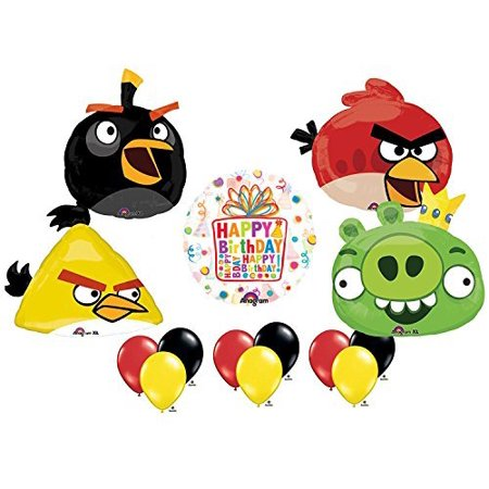 The Ultimate Angry Birds Birthday Party Supplies and Balloon Decorations](Angry Bird Balloon)