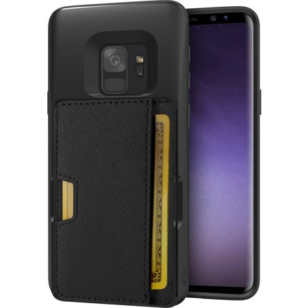 the best attitude e1637 73fa6 Silk Galaxy S9 and S9 Plus Wallet Case - Q CARD CASE [Slim Protective  Kickstand CM4 Grip Cover] -