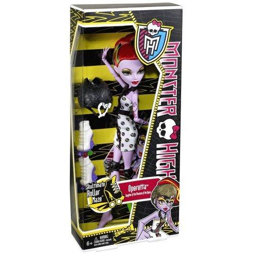 Monster High Skultimate Roller Maze Doll, Operetta Doll