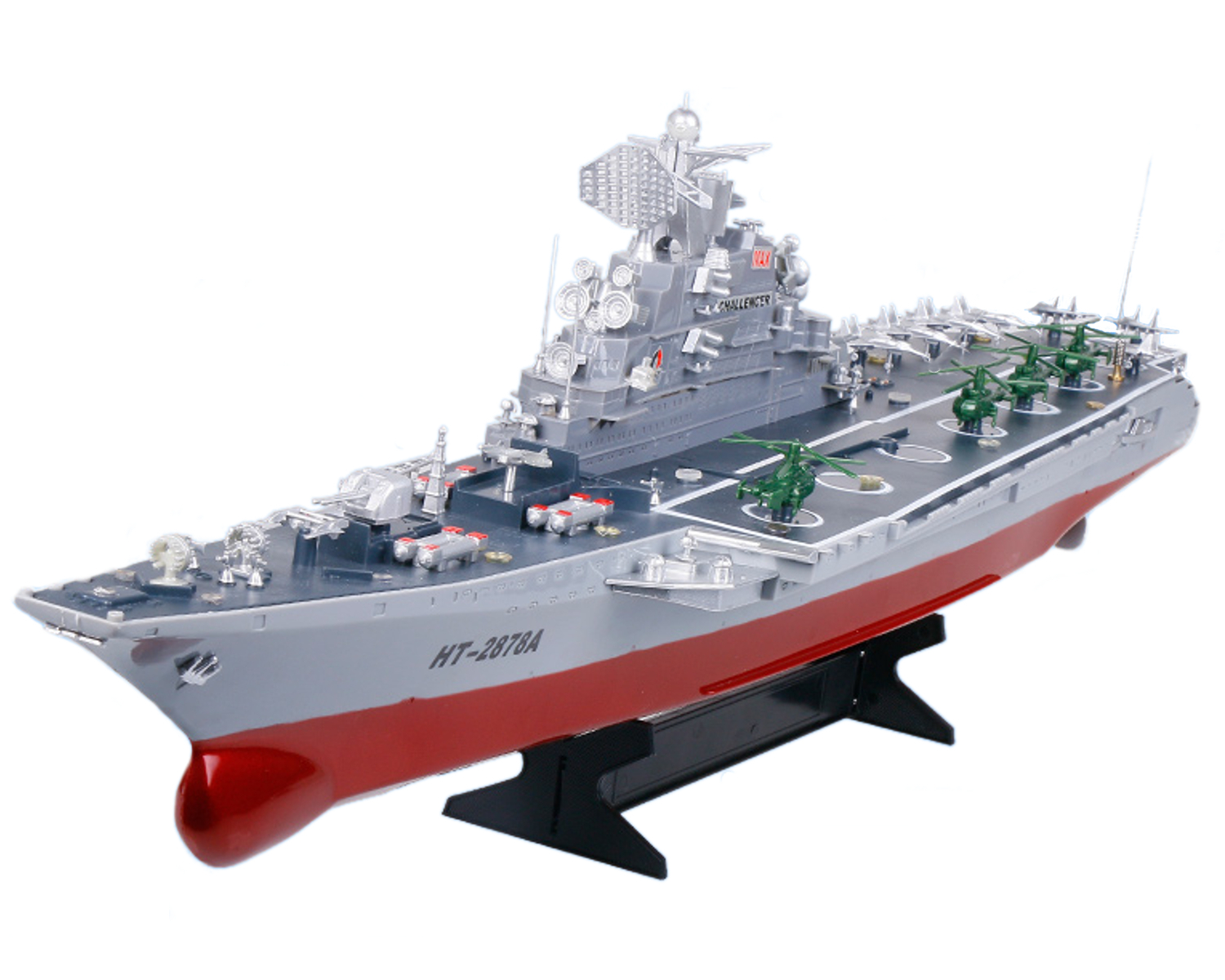 "POCO DIVO Challenger Aircraft Carrier 30"" RC Battleship Warship 1 275 Military Model Boat by"