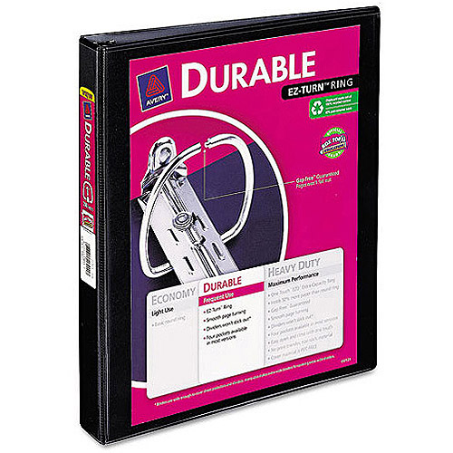 "Avery 1"" Durable View Binder with EZ-Turn Ring"