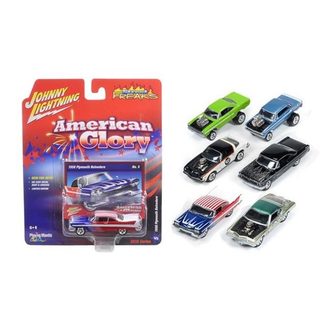 Autoworld JLSF001-A Street Freaks Release 1-A, cars 1-64 Diecast Model Cars by Johnny Lightning