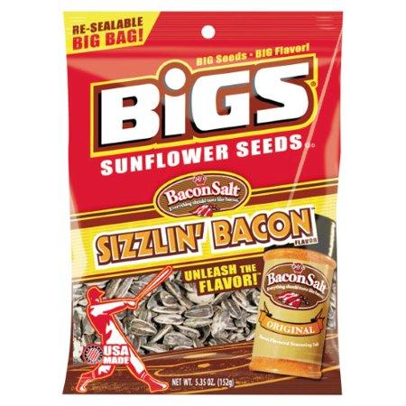 Bigs, Sunflower Seeds, Bacon Salt Sizzlin' Bacon (Bacon Salt Sunflower Seeds)