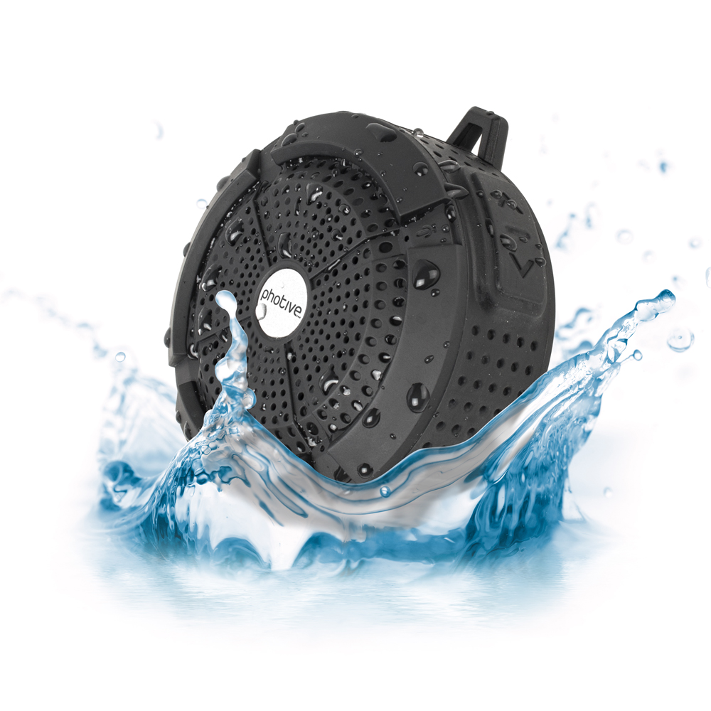 Photive RAIN - Speaker - for portable use - wireless - Bluetooth - 3 Watt - black