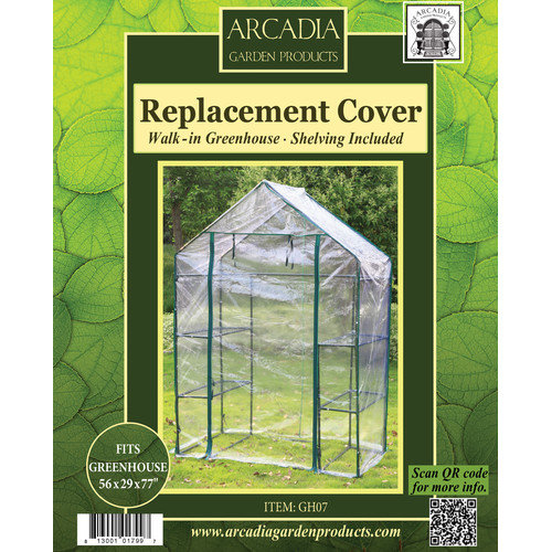 Arcadia Garden Products Greenhouse Replacement Cover