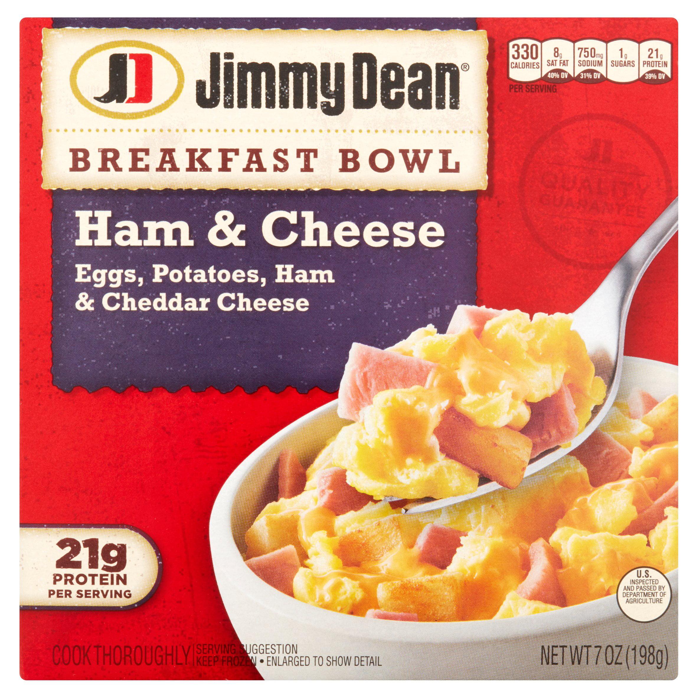 Jimmy Dean Ham & Cheese Breakfast Bowl, 7 oz