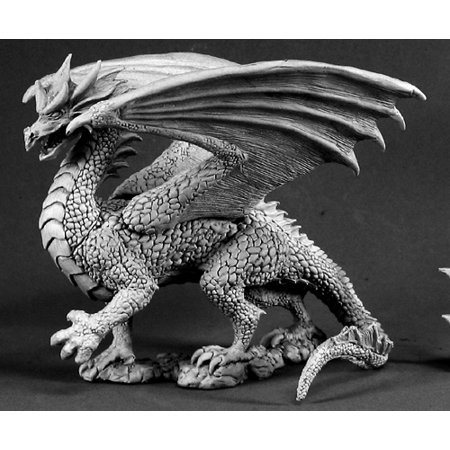 Reaper Miniatures Dragon Of Fire #02717 Dark Heaven ...