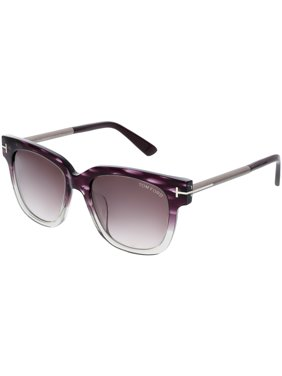 264cbff102d2f Product Image Tom Ford Women s Mirrored Tracy FT0436-83T-54 Purple Square  Sunglasses
