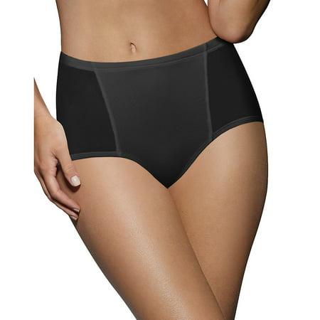 Bali Women's One Smooth U Simply Smooth Brief Panty, Nude, Medium/6