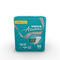 Assurance Men's Maximum Absorbency Guards, 52 count