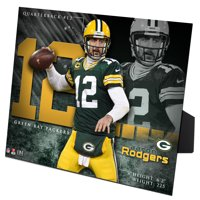 Aaron Rodgers Green Bay Packers Highland Mint 8'' x 10'' PleXart - No Size