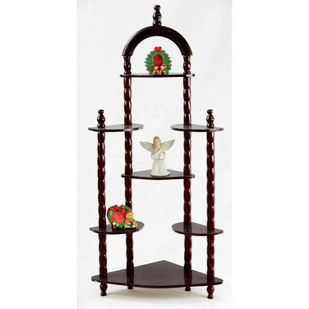 Home Craft 3-Tier Wall Corner Shelves ()
