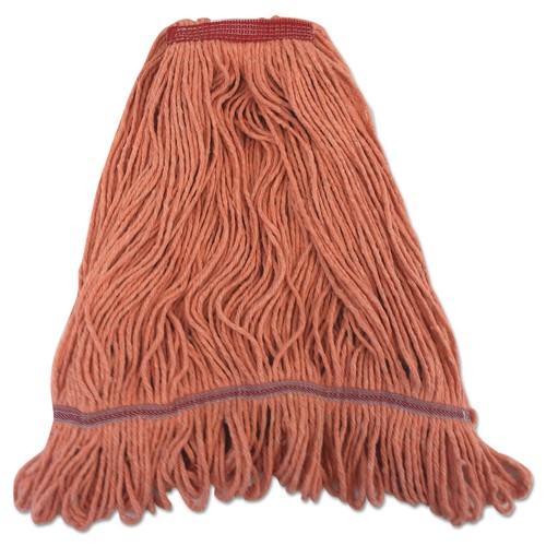 "Boardwalk BWK1900LONB Pro Loop Web tailband Mop Head, Orange, Large, 1.3"" Headband by BOARDWALK"