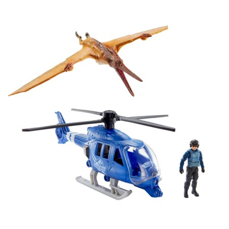 Jurassic World Destruct-a-saurs Pteranodon Copter Attack Set