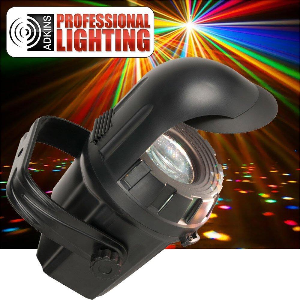 Micro Moonflower Burst LED DJ Lighting Effect - Twice as bright as the ADJ Mi...