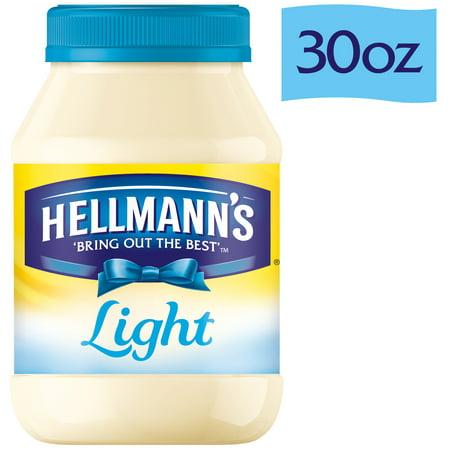 Hellmanns Light Mayonnaise  30 Oz