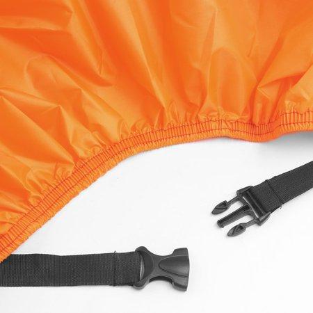 Rain Dust XL 180T Motorcycle Cover Outdoor UV Snow Protector Black Orange - image 4 de 7