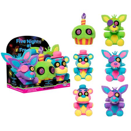 Funko Plush: Five Nights at Freddy's - Foxy Purple Blacklight