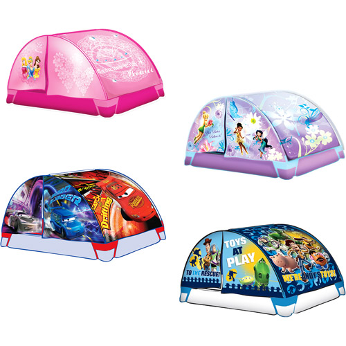 Disney Cars Fairies Princess or Toy Story 4 PC Bed Tent Set  sc 1 st  Walmart & Product