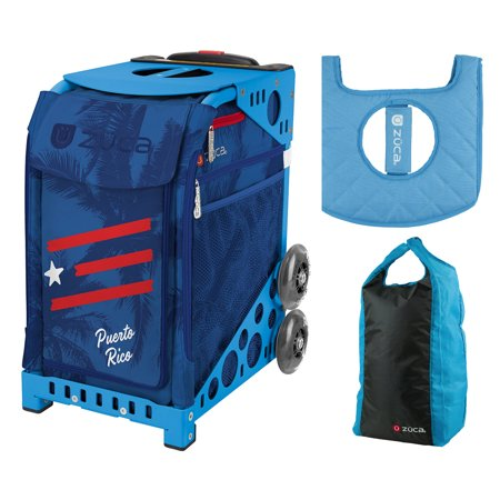 38f2f15bc8 Zuca Sport Bag - Puerto Rico with Gift Stuff Sack and Seat Cover (Blue Frame)  - Walmart.com
