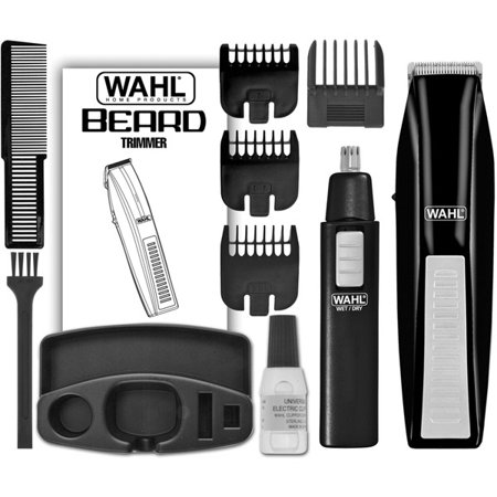 Wahl Nose And Beard Trimmer, Wahl-5537, 1 Ea (Best Vacuum Beard Trimmer)