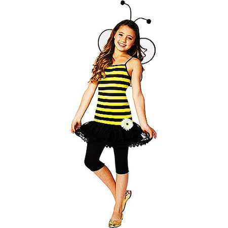 Sweet As Honey Bumble Bee Child Halloween Costume - Kid Bumble Bee Costume