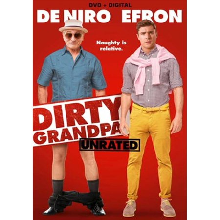 Dirty Grandpa (DVD) (Zac Efron Love Movie)