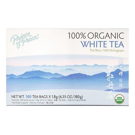 Prince Of Peace Organic White Tea 100 Count 6 35oz