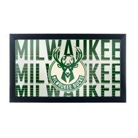 NBA Framed Logo Mirror - City - Milwaukee Bucks