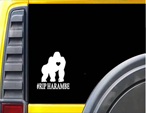 Car Truck SUV Cooler Tumbler Gorilla Pen /& Ink Art Vinyl Decal Sticker