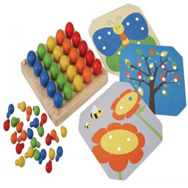 PlanToys Plan Preschool Creative Peg Boad Preschool by PlanToys