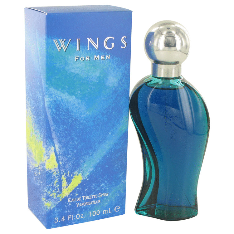 WINGS by Giorgio Beverly Hills for Men Eau De Toilette/ Cologne Spray 3.4 oz