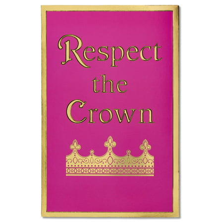 American Greetings Respect The Crown Birthday Card With Foil