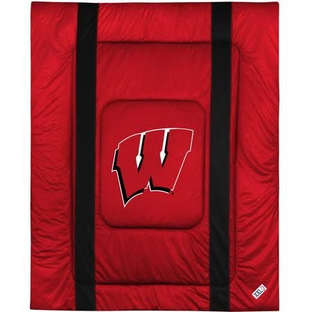 NCAA Wisconsin U Sidelines Comforter