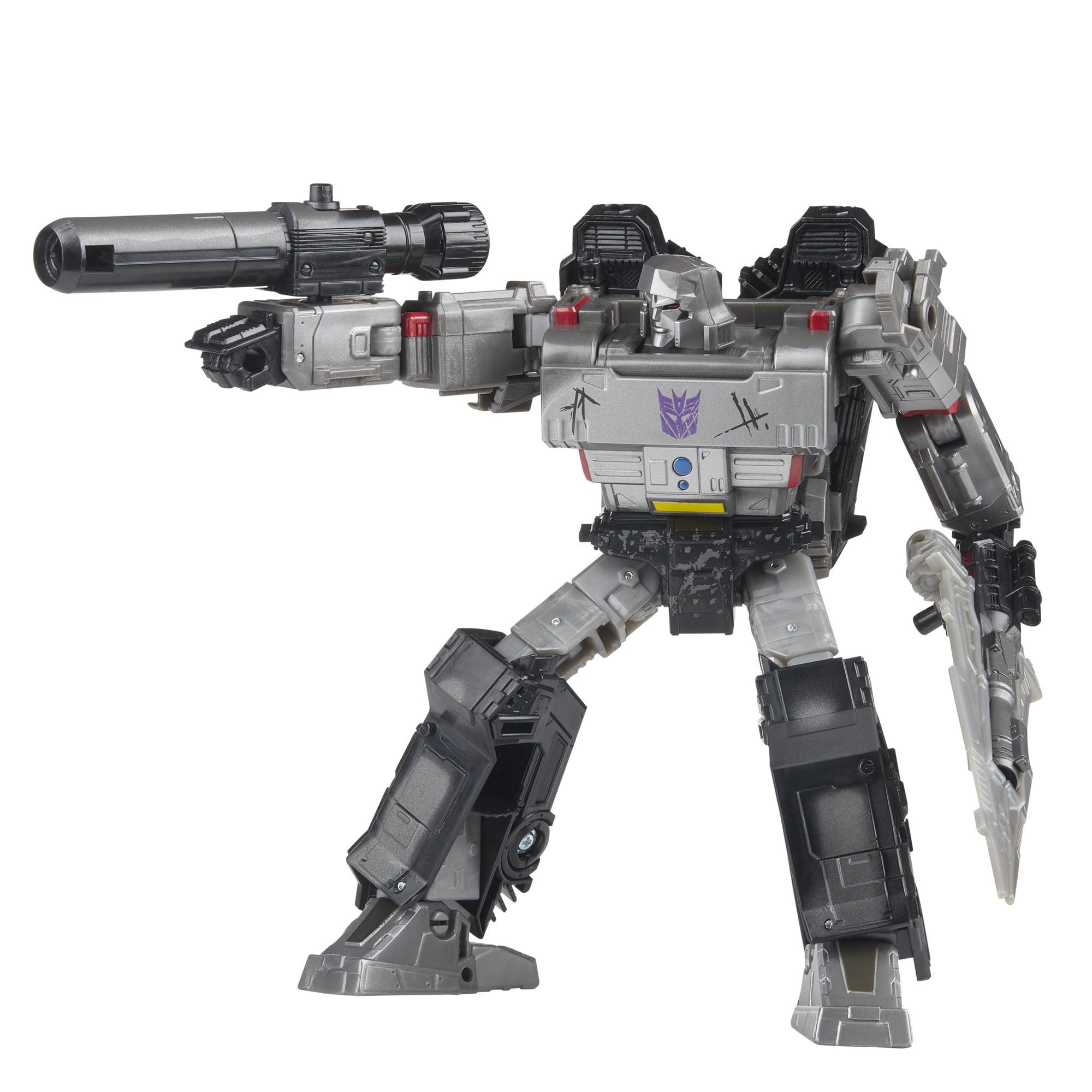 """Nouveau Transformers la guerre pour Cybertron Netflix 7/"""" Voyager Decepticon Megatron 3-Pack"""