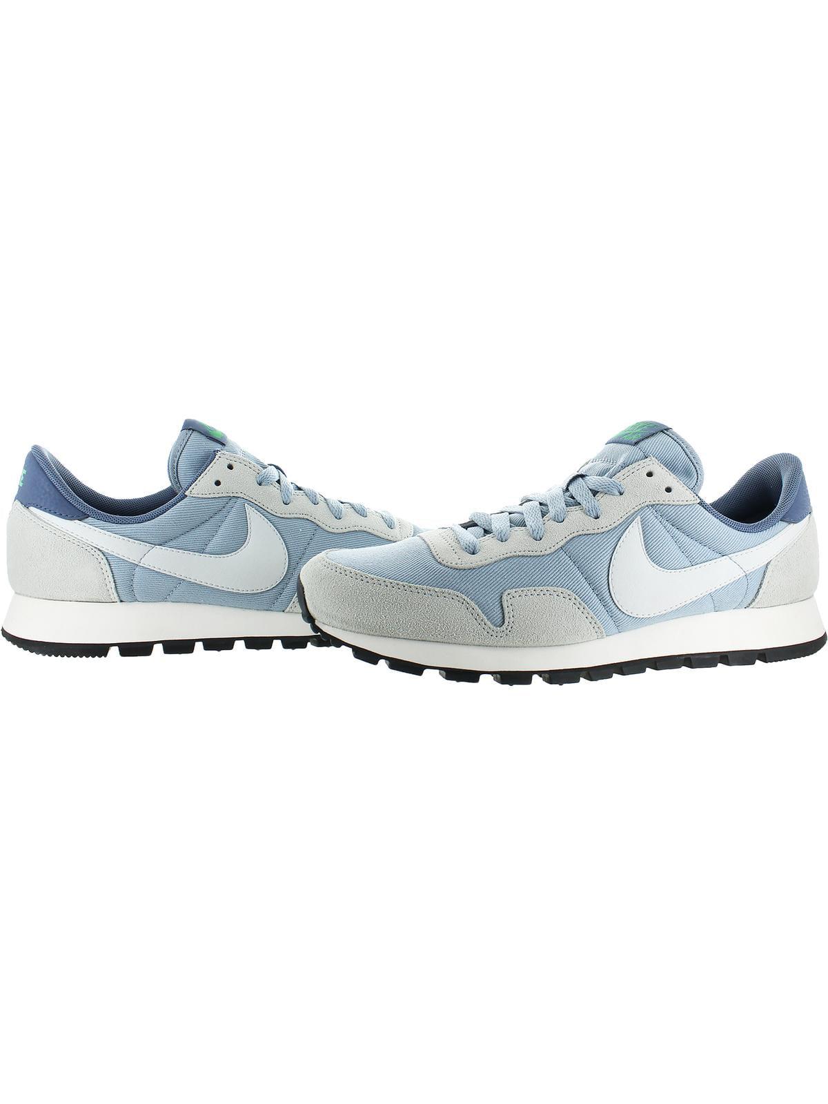 Nike Womens Air Pegasus '83 Suede Mesh Running Shoes Blue 11.5 Medium (B,M)