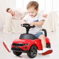 Hommoo Kids Ride On Push Car, Battery Powered Kids Electric Vehicles Toy for Children Boys & Girls
