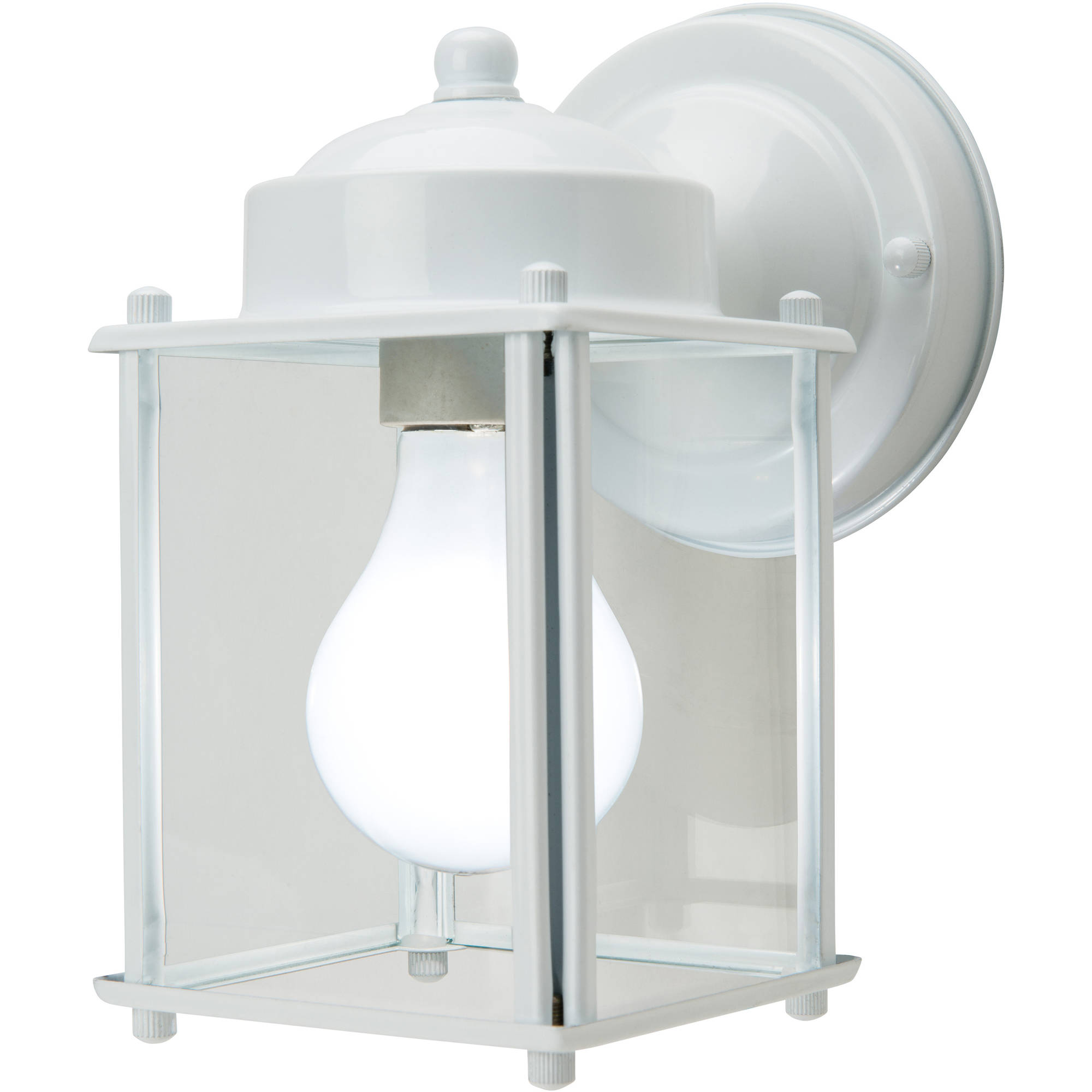 "Chapter Outdoor 6"" Square Front Porch Light, White by Hampton Products Int'l Corp."