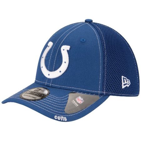 Indianapolis Colts New Era NFL 39THIRTY Blitz Neo Fitted Hat Blue by
