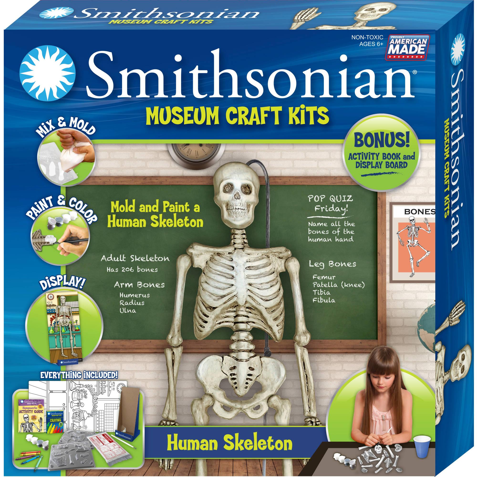 Smithsonian Museum Craft Kits, Human