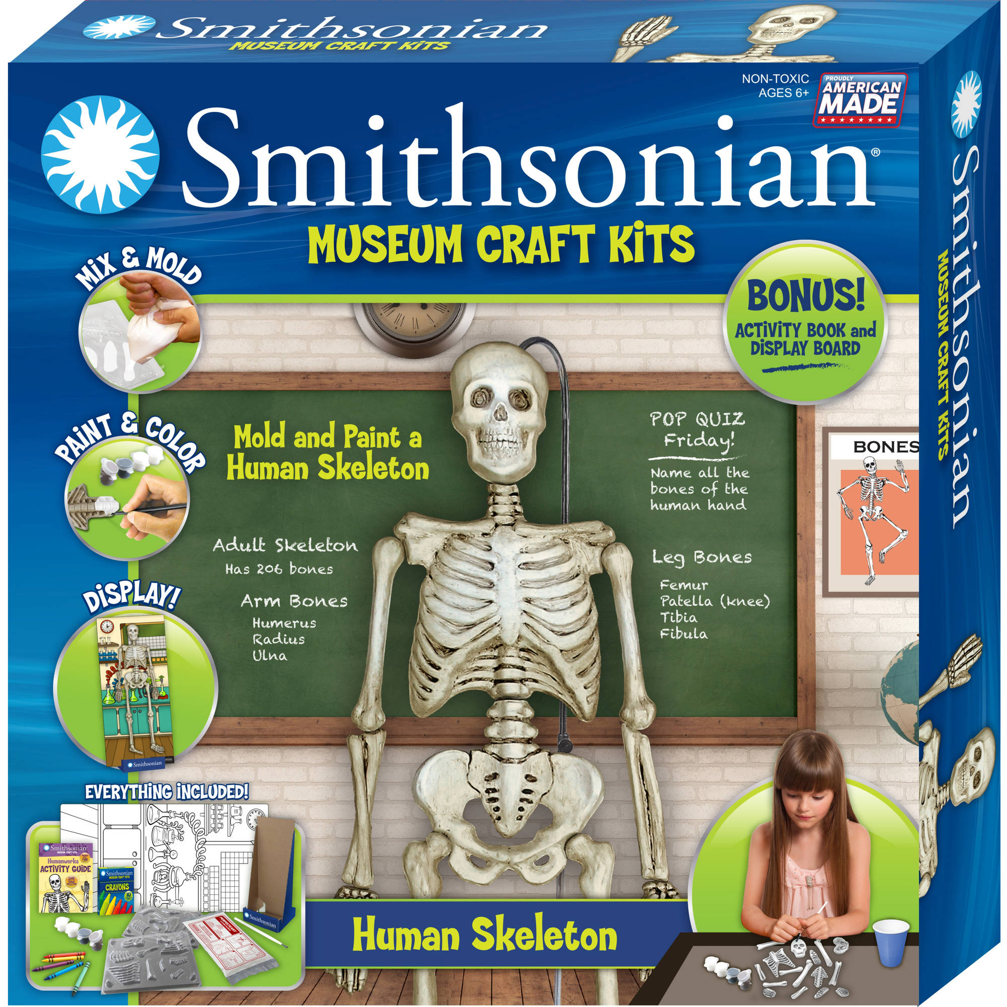 Smithsonian Museum Craft Kits, Human